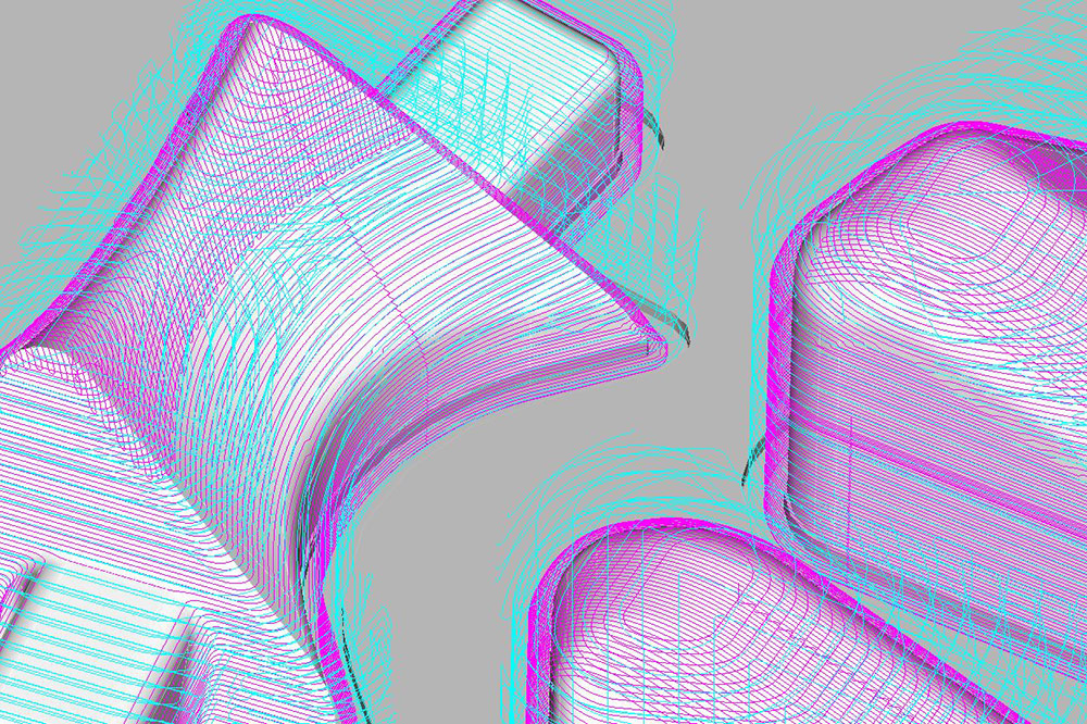 Algorithm driven toolpath generated from Alphacam Ultimate CAM program